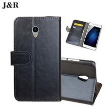 Buy J&R Meizu Meila Case Leather Phone Case Meizu M3E Meilan E 5.5 inch Book Stype Flip Cover Kicktand Bag Wallet Card Slots for $4.49 in AliExpress store