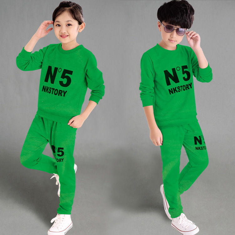 Children Suit Autumn Children's Garment 2016 Autumn Clothing New Pattern Catamite Girl Long Sleeve Motion Directly Group(China (Mainland))