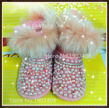 New Baby boots wool Brand fur Warm Winter baby Snow Boots/Toddler Shoes/ warm shoes for baby shoes first walker baby soft boots2(China (Mainland))