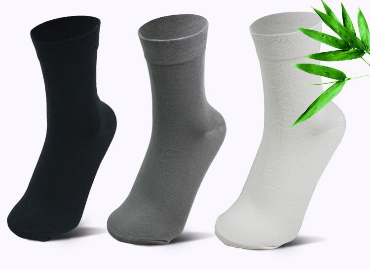 5 пар = 1 лот толстый хлопок и бамбуковое волокно классический деловой носок, Бренд мужская носки лонг, Высокое качество спортивные носки мужчина + подарок