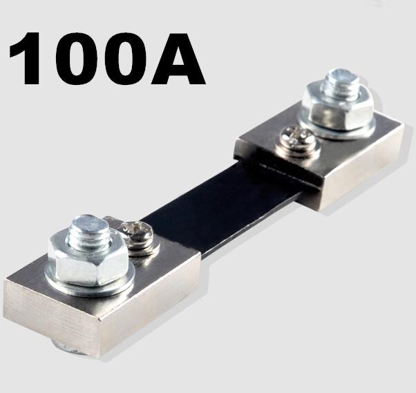 10PCS DC 100A/75mV Shunt Resistor 0-100A Ampere Panel Meter Shunt Currect Monitor For Ammeter
