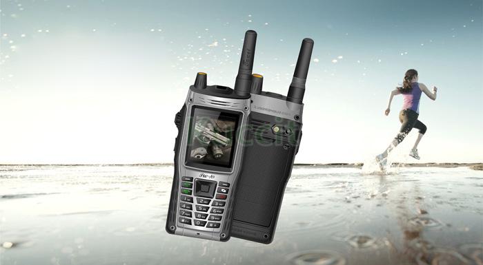 2015 wholsale CDMA EVDO 450Mhz Waterproof cell phone Radio Walkie Talkie phone PTT cdma gsm dual mobile phones VHF UFH Phone(China (Mainland))