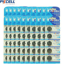 Buy 20Pack/100Pcs PKCELL 3V CR2032 Lithium Battery BR2032 DL2032 Button Cell Batteries for $22.47 in AliExpress store