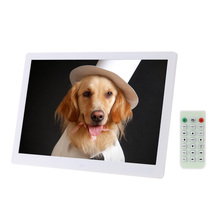 "15.6 ""Ad Alta Risoluzione 1280*800 LED Cornice Digitale Album di foto con Telecomando Sveglia MP3 MP4 Movie Player(China (Mainland))"