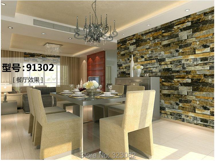 Acheter 3d pierre papier peint mur de fond - Papier peint pour salon moderne ...
