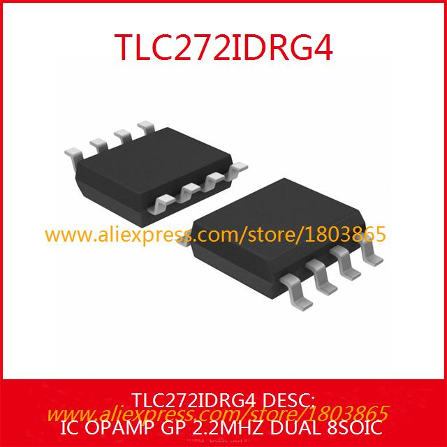 Free Shipping Electronic Parts TLC272IDRG4 IC OPAMP GP 2.2MHZ DUAL 8SOIC 272 TLC272 10pcs(China (Mainland))