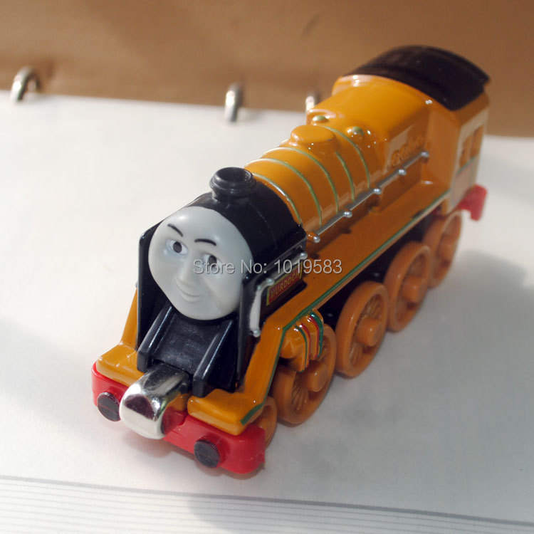 (10pcs/lot) Wholesale Thomas&amp;Friend The Train Toys Tanke Engine Murdoch Diecast Metal Magnetic Train Model Toy -Free Shipping<br><br>Aliexpress