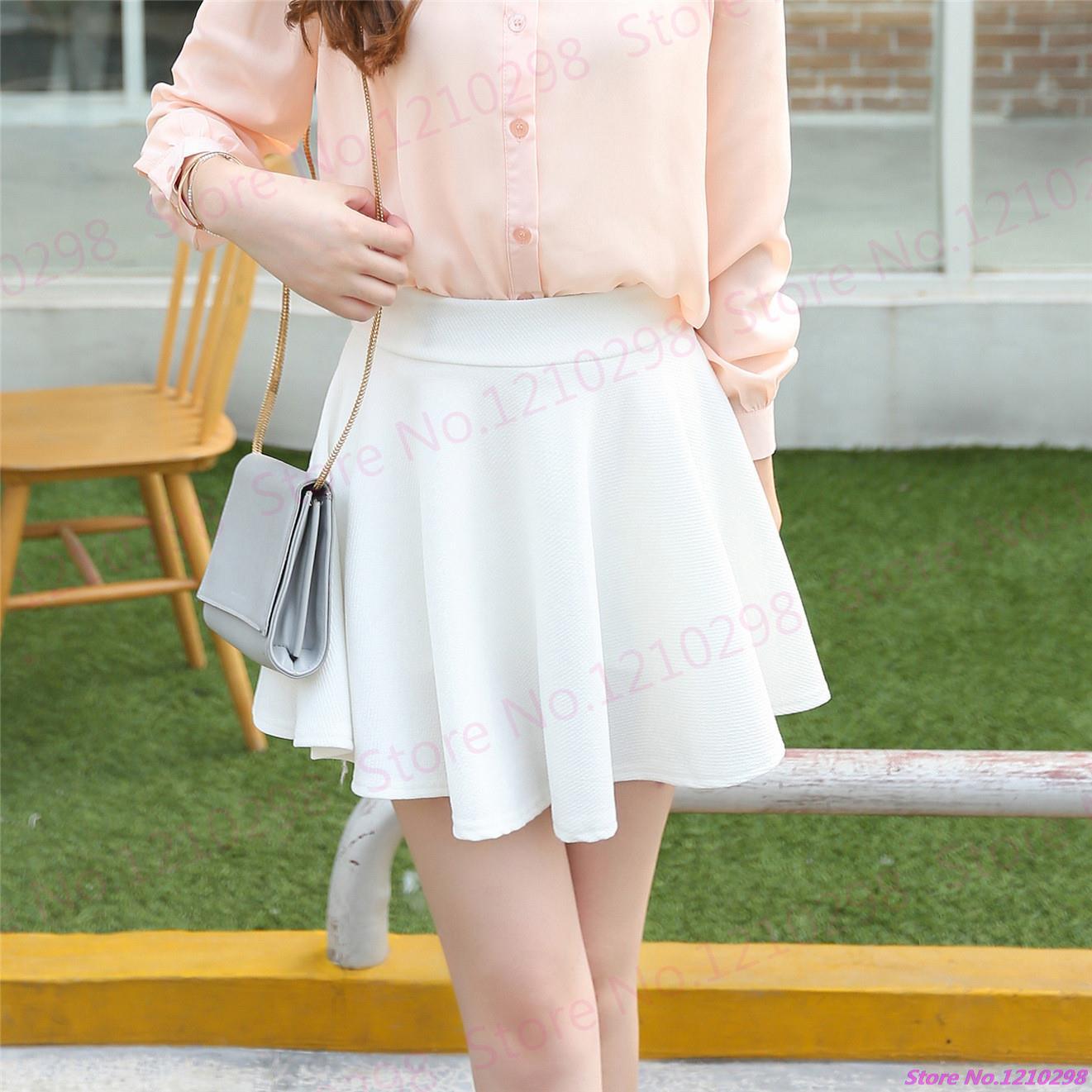 New Saia Faldas Miniskirt Comfortable Solid Pettiskirt Running Tennis Sport font b Kilts b font Girls