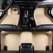 Buy Custom car floor mats KIA Models K2/3/4/5 Kia Cerato Sportage Optima Maxima carnival rio ceed car styling floor mat for $92.33 in AliExpress store