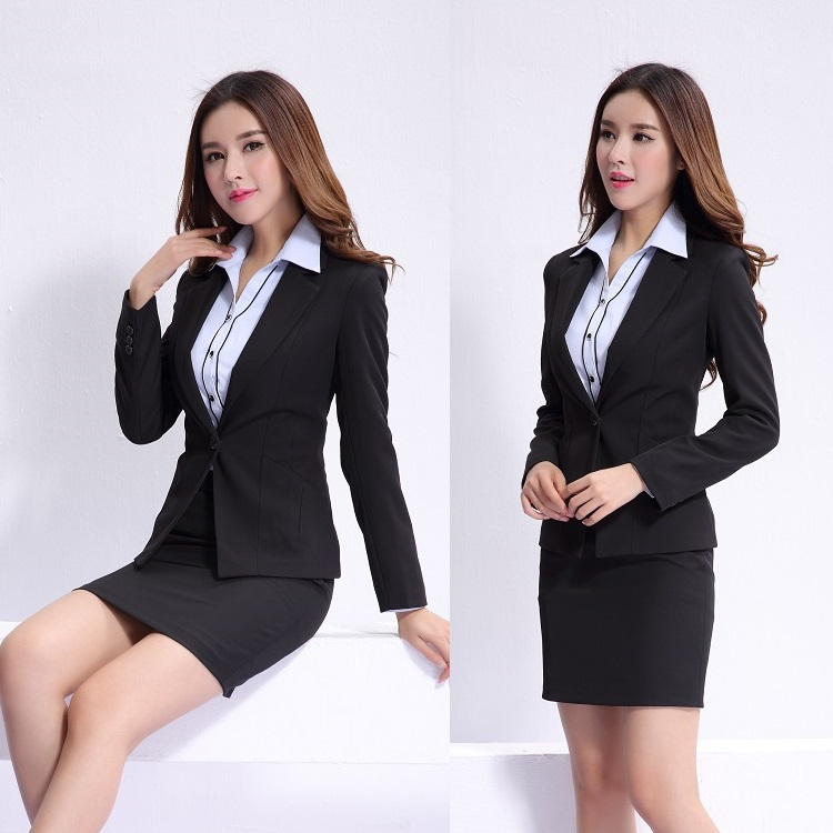 popular office uniform designs women buy cheap office uniform designs