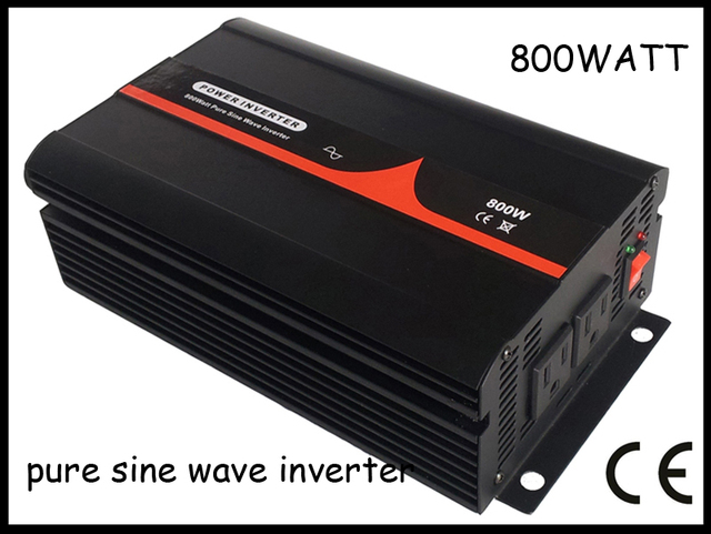 800W DC24V AC230V Pure sine wave inverter,solar inverter,,homepower inverter,CE&RoHS,1 year warranty.