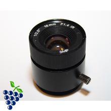 16mm Iris Fijo IR Objetivo Camara CCTV 3MP 1/2.5″ Resistencia