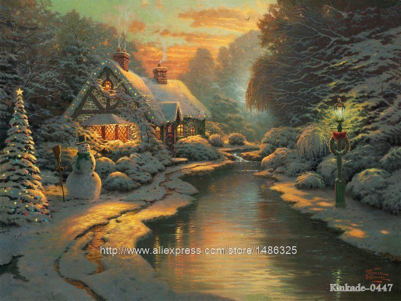 Thomas Kinkade Christmas Express