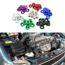 10PCS M6 x 20 Car Styling Universal Modification JDM Password Fender Washer License Plate Bolts 6 Colors Auto Accessories(China (Mainland))