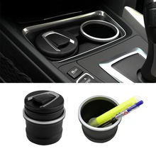 car Ash Tray Ashtray Storage Cup With LED for BMW 1 3 4 5 7 Series X1 X3 X5 X6 Brand New(China (Mainland))