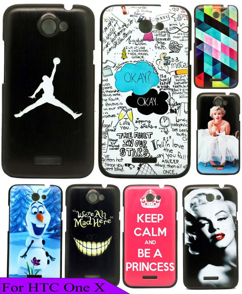 Charming New Sport Jordan Black Back Cool Skin Custom Painted Protective Phone High Quality Hard Plastic Cover For HTC ONE X(China (Mainland))