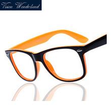 Fashion myopia optical glasses frame men women brand designer plain eyeglasses clear
