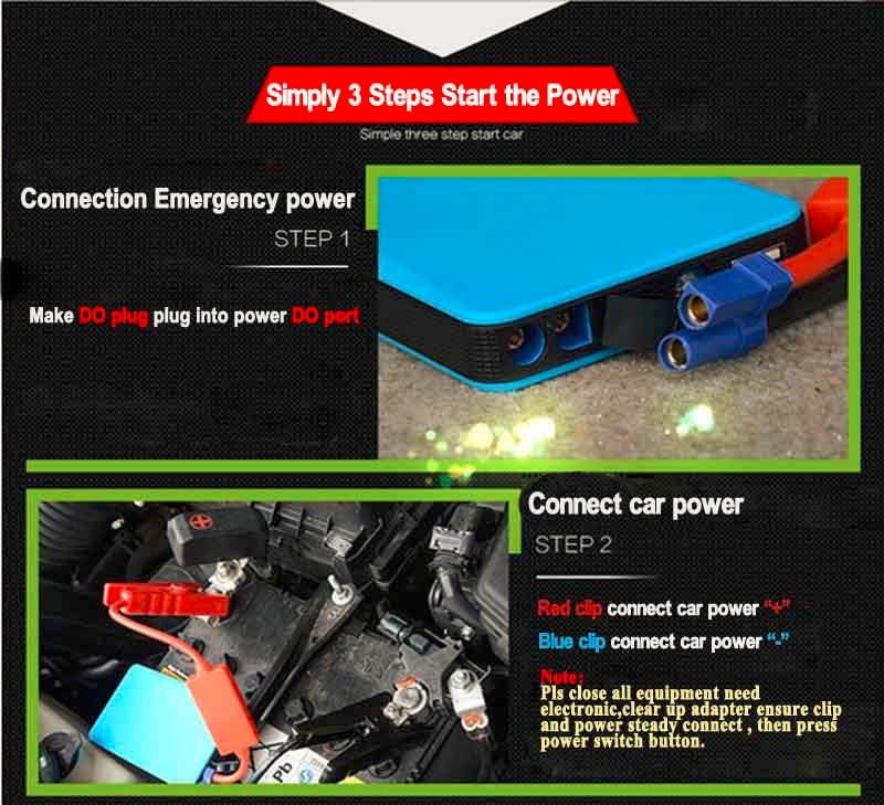Thin 8000mAh 10000mAh Car Emergency Starting Power Multifunction Jump Starter Car Emergency Power Bank Battery Charger LR5
