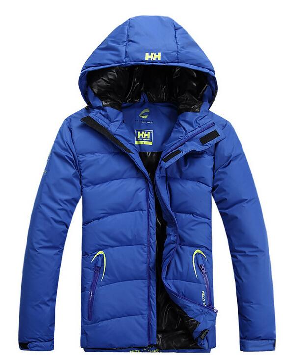 Helly Hansen Jackets Mens Winter Warm Goose Down Jacket Waterproof Jackets Outdoor Sport Snowboard Suits Helly