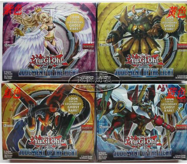 Yu-Gi-print card group English card booster pack 805 cartons ruling Light Yu-gi-oh! ZEXAL Free shipping(China (Mainland))