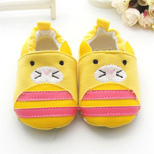 Hot Sale Cute Bee Elastic Heel Soft Soled Baby Toddler Shoes For Babay(China (Mainland))