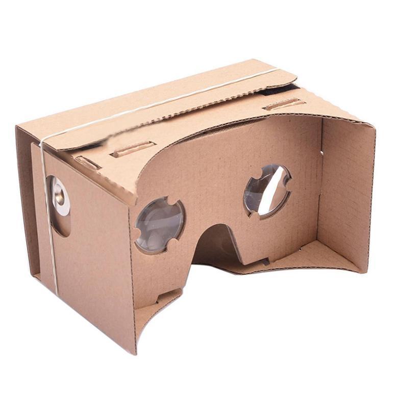 CN ULTRA CLEAR Google Cardboard Valencia Quality 3D Virtual Reality Glasses #L07360(China (Mainland))