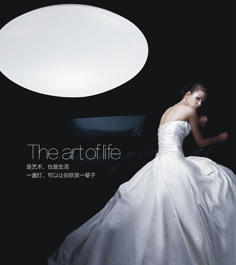 49% OFF LED Ceiling light 15W Dia 26CM 110-240V Discount lamp living room light modern restaurant Bathroom lamp FREE SHIPPING(China (Mainland))