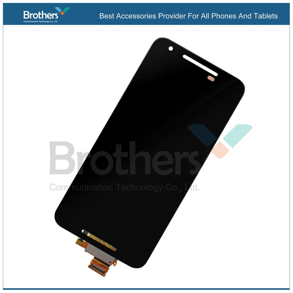 Black Touch Screen Digitizer + LCD Display Full Assembly for LG Nexus 5x free shipping