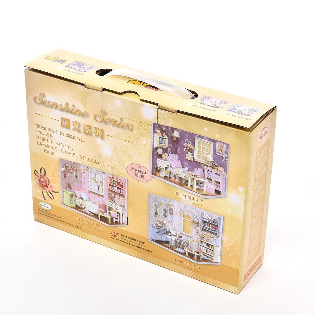 Kids Creative Mini Puzzle Model Handmade Dollhouse Birthday Gift
