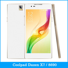 """with Gift Original Coolpad Dazen X7 / 8690 16GB+2GB 4G 5.2"""" Super Amold Screen Android 4.4 SmartPhone MTK6595 2.0GHz Octa Core(China (Mainland))"""