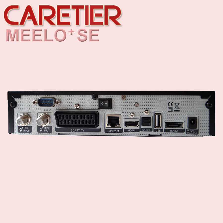 MEELO SE Twin Tuner Decoder same as Solo 2 SE Linux Reciever 1300 MHz CPU 2 dvb-s2 Tuner STB digital satellite tv receiver(China (Mainland))