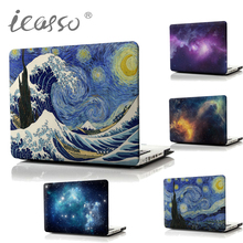Buy iCasso Nebula printing Cover Hard Shell Protective Case Apple Macbook Laptop Case Air Pro 13 15 Inch Retina model for $16.20 in AliExpress store