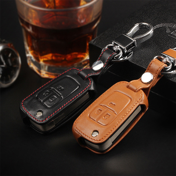 New Car Styling Key Cover For Chevrolet Cruze AVEO SAIL TRAX MALIBU CAPTIVA Etc Leather High quality Free Shipping