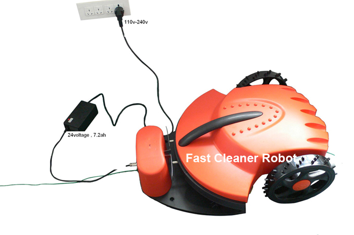 The Lowest price good quality electric lawn mower Robot TC-158 with lithium battery,Auto Recharged,Remote Control(China (Mainland))