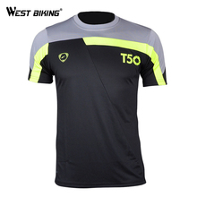 Buy WEST BIKING Bicycle Jersey Men's t-shirt Quick Dry Breathable T-shirts Men Jersey Running Shirt Soccer Jerseys Bicycle Jersey for $8.09 in AliExpress store