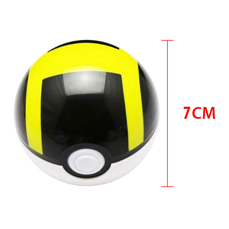 Style CM Pokemon Ball ABS Anime Action Figures PokeBall Super Balls For Kids Kid