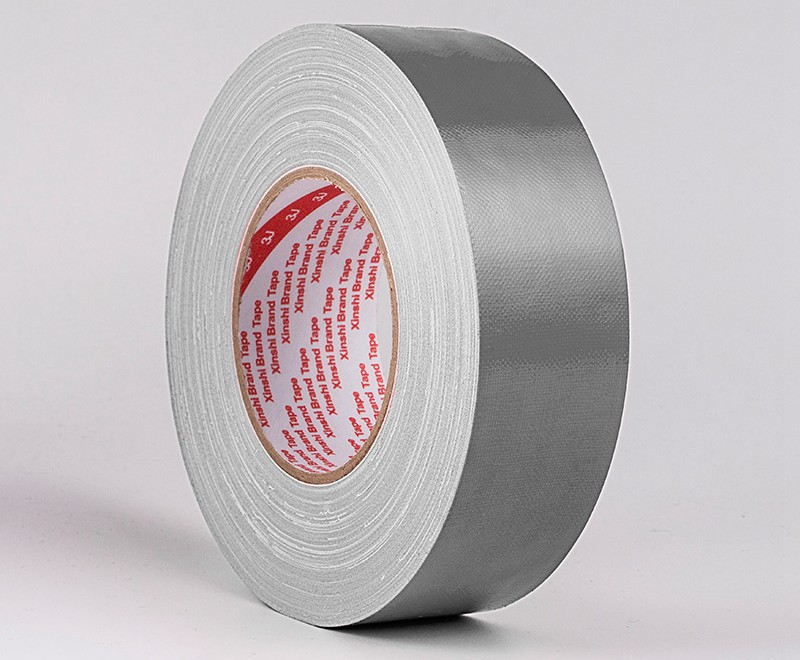 1 Roll Width 60mm x50M ,thickness 0.28mm,12 Colors Cloth Tape,strong stickiness,Wide-range in application,Silver Grey Color(China (Mainland))