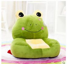 new creative plush frog children sofa toy lovely green cartoon frogs sofa toy gift about 54x45cm