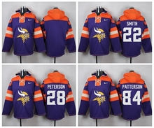 Teddy Bridgewater Harrison Smith Adrian Peterson Kyle Rudolph Patterson Sweater hoodies any name any number,camouflage(China (Mainland))