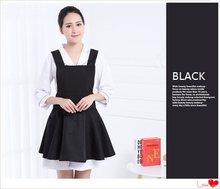 Fashion Beautician apron Supermarket Restaurant Kitchen Coffee Shop waitress apron Customized LOGO(China)