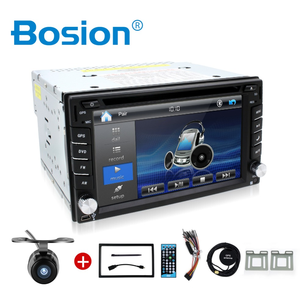 Car Electronic auto 2din car dvd player GPS Radio Tuner PC Video Monitors for universal RDS Blutooth digital tv (option) Free ca(China (Mainland))
