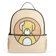 Buy Women Bear Canvas Backpack Student School Bag Cute Printing Mochila Feminina Teenage Girls Bookbag Travel Back Pack for $29.69 in AliExpress store
