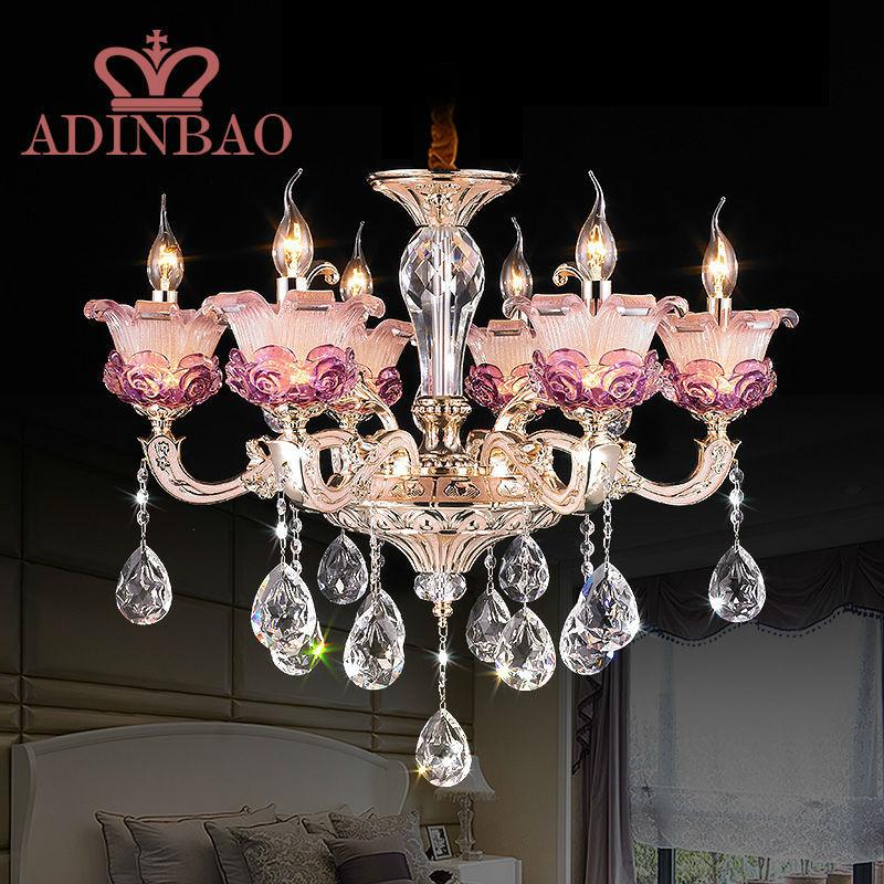 achetez en gros romantique lustre en ligne des grossistes romantique lustre chinois. Black Bedroom Furniture Sets. Home Design Ideas