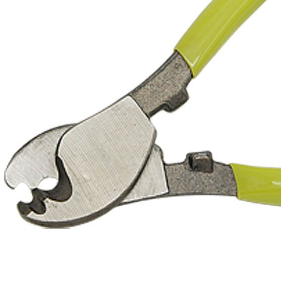 WSFS Hot Sale Yellow Green Handle Wire Cable Cutting Plier Cutter Stripper(China (Mainland))