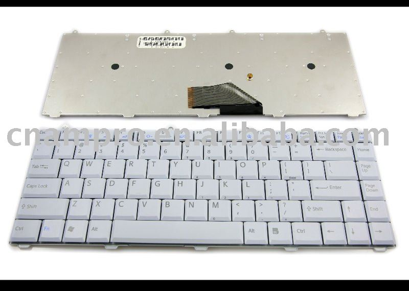 New Laptop keyboards for Sony Vaio FS VGN-FS Series Light Grey US Version - 147915321(China (Mainland))