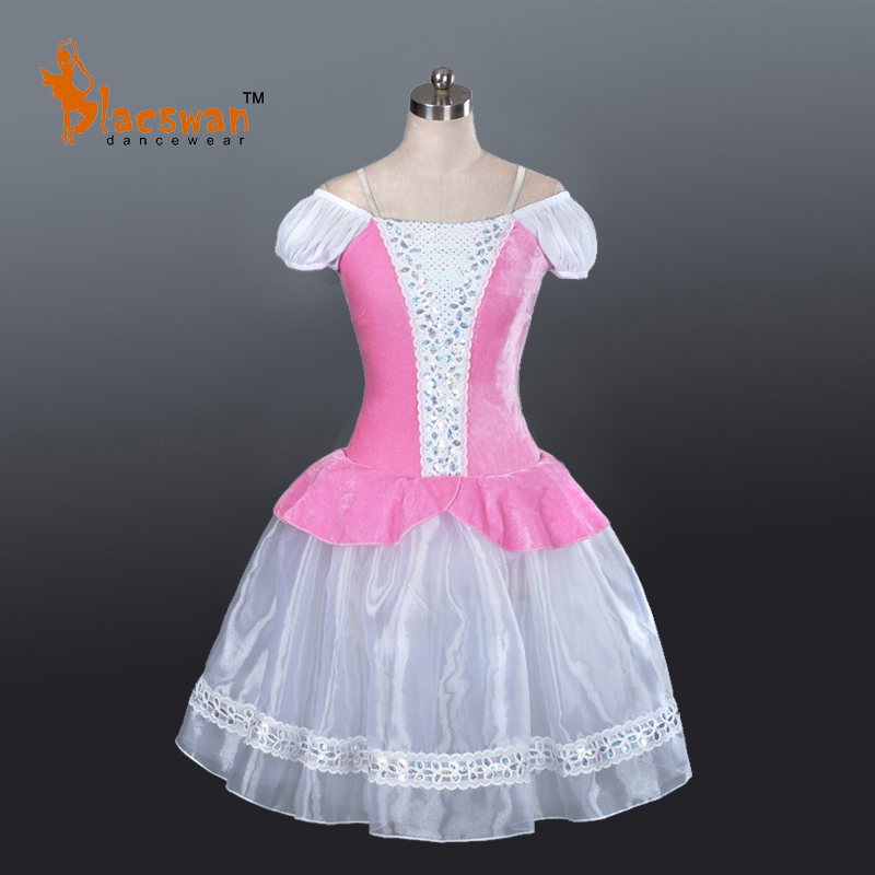 Romanctic Ballet Tutu Dress Pink BT703 Girls Blue Professional Adult Romantic Fairy - Guangzhou Blacswan Dance & Activewear Co., Ltd. store