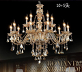 Free shipping K9 Modern Lustre Crystal Chandeliers 4 6 8 15 Arm Chandelier Hand Blown best