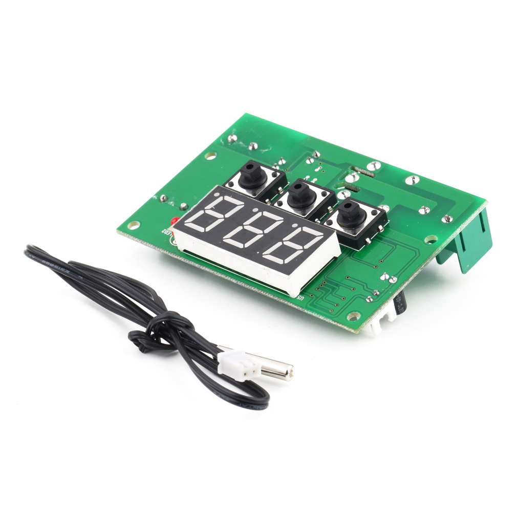 Гаджет  New  12V 10A Digital LCD Temperature Regulator Controller PCB Board Thermostat Sensor hot selling None Инструменты