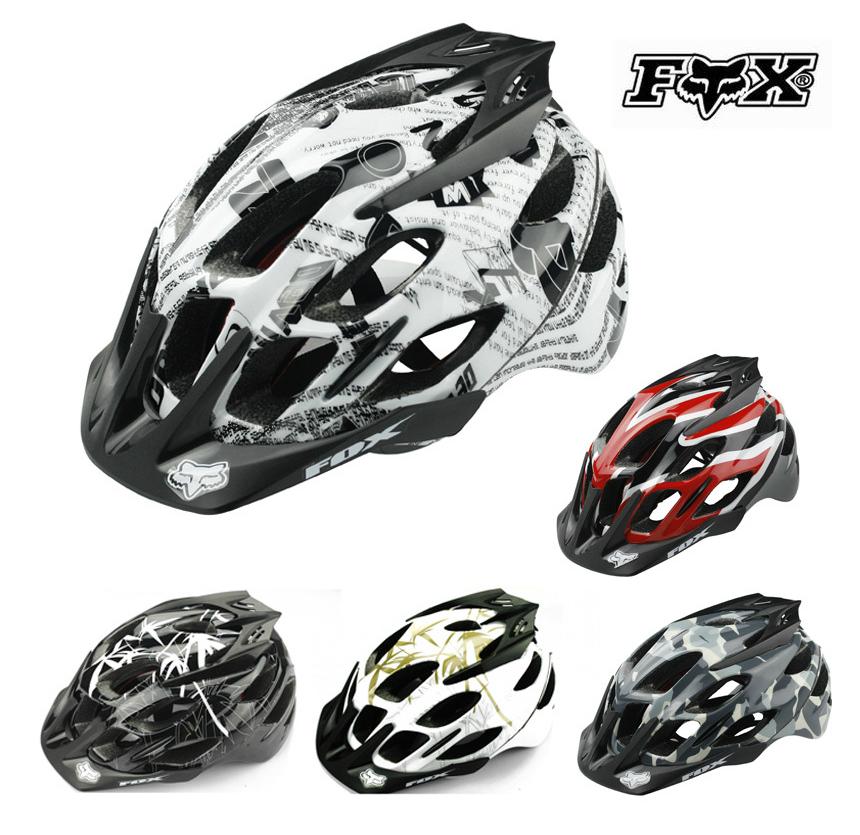 Free Shipping 2015 New fox Flux Helmet Bicycle Helmet Mountain Bike Helmet(China (Mainland))