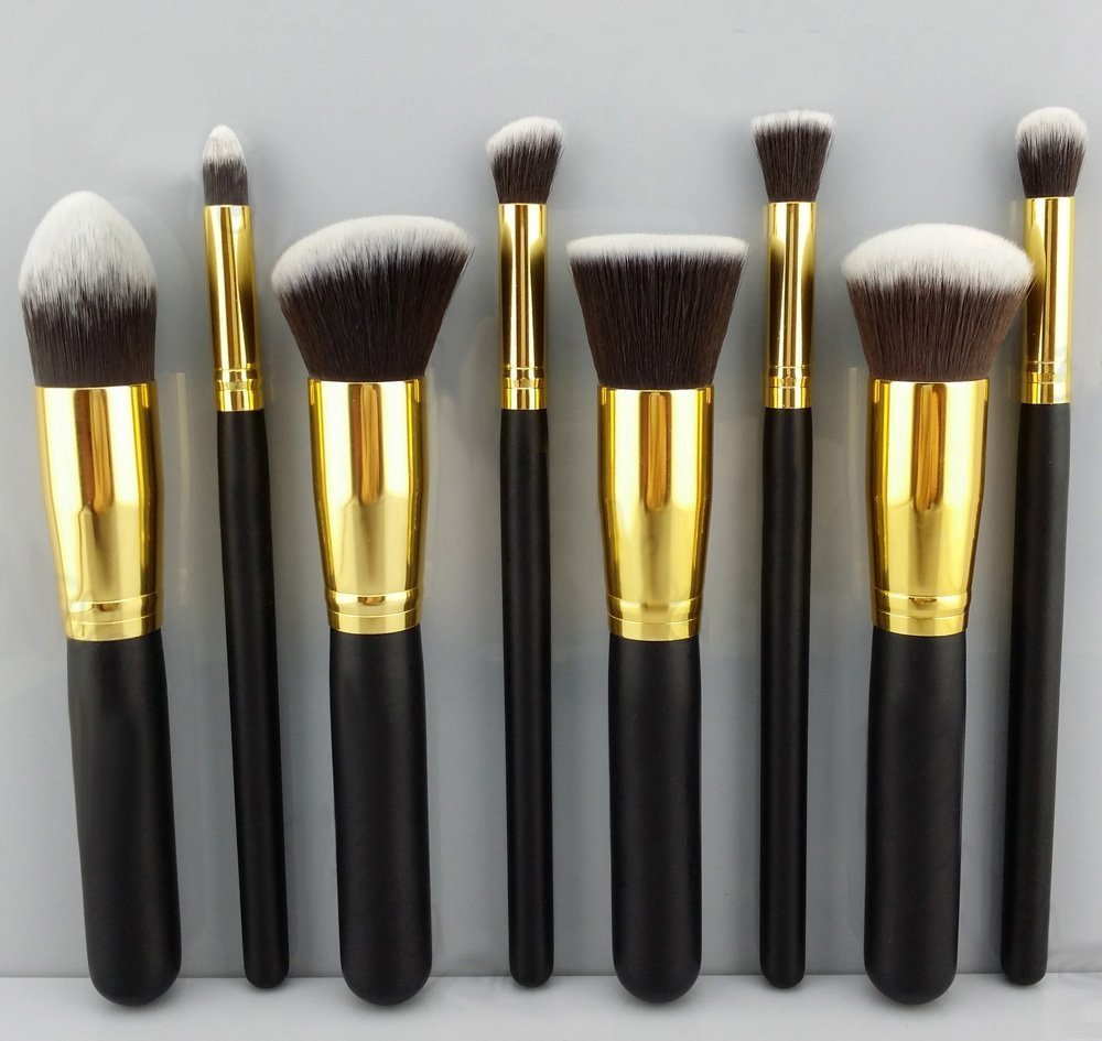 Makeup Brushes Cosmetics Foundation Blending Brush ,Makeup Kit Set Wooden tool - ShenZhen Bestope Technology Limited store